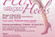 Acara Fun With Your Heels Cosmopolitan FM dan Equity Life Indonesia
