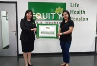 Equity Life Indonesia kembali bayarkan klaim meninggal dunia di lampung asuransi terbaik kesehatan jiwa indonesia