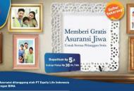 Persembahan terbaru kami Program XL Asuransi dari XL & Equity Life Indonesia