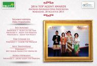Equity Life Indonesia Borong 6 Piala dalam TAA AAJI 28th di Makassar
