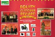 Equity Life Indonesia Gelar Customer Reward di Banjarmasin