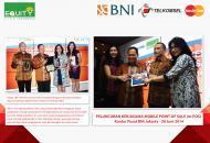 Equity Life Indonesia Menjadi Mitra Pertama m-POS BNI & Telkomsel