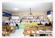 literasi keuangan di SMKN 1 Bojonggede yang diadakan oleh Equity Life Indonesia
